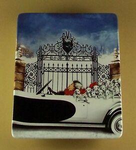 101-Dalmatians-CRUELLA-IS-SPOTTED-Plate-3-Disney-Cruella-DeVille-Film-Movie-TV