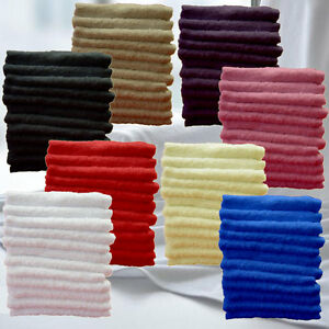 Pack-of-12-Face-Cloth-Luxury-Royal-Egyptian-100-Cotton-Face-Flannel-30x30cm