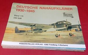 WA 115 Deutsche Nahaufklärer 1930-1945