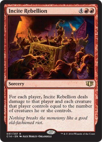 Incite Rebellion - Commander 2014 037//337 Rare