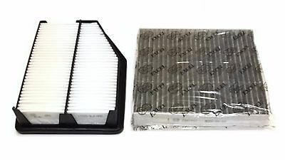 Combo Set ENGINE/&CARBONIZED CABIN AIR FILTER FOR SONATA 2.4L 2015-2017