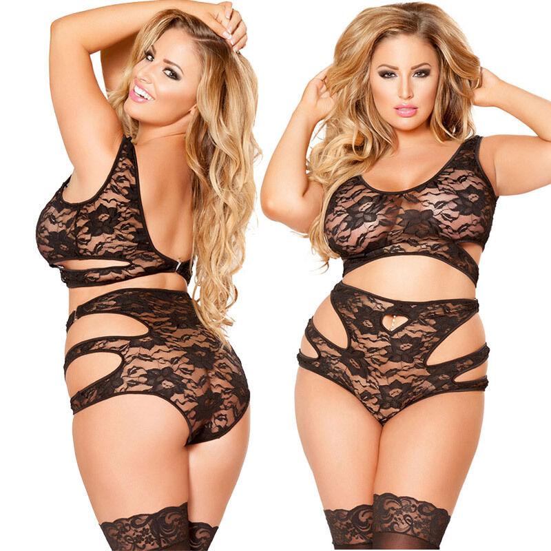 Xmas Sexy Lingerie Lace Bra Babydoll Womens Underwear Nightwear ...