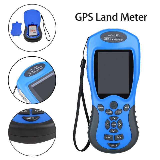 Land meter Can display measuring value figure track NF-198 GPS Test Devices GPS