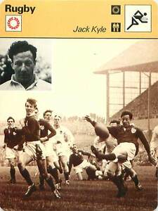 FICHE-CARD-Jack-Kyle-Irlande-du-Nord-Rugby-Union-RUGBY-a-XV-1970s