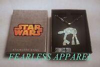 Star Wars Atat All Terrain Armored Transport Walker Comic Movie Pendant Necklace