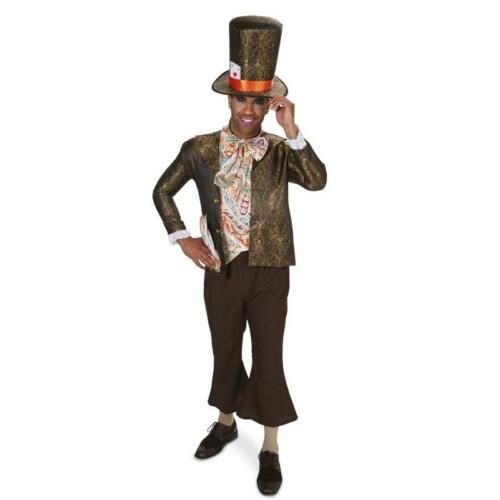 Dark Mad Hatter or Jacquard mens Adult Costume can be worn by woman everyone