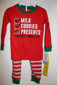 f998bd8d6ba2 NWT CARTER S BABY BOYS GIRLS 2 PC MILK COOKIES PRESENTS HOLIDAY ...