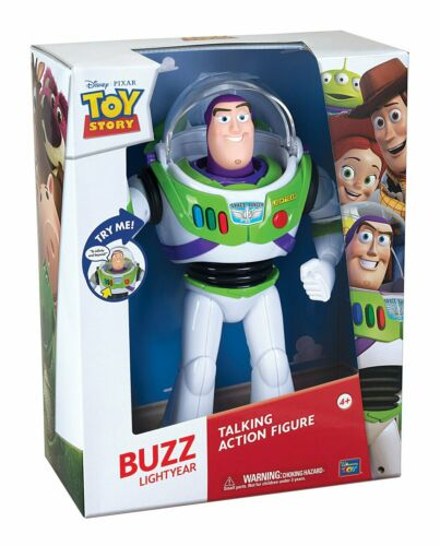 DISNEY PIXAR TOY STORY 4 Buzz Buzz Lightyear Parlante 40 cm versione italiana