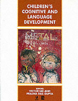 1 of 1 - Children's Cognitive and Language Development by John Wiley and Sons Ltd...