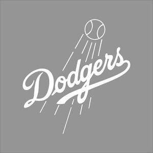 Los Angeles Dodgers Mlb Team Logo 1 Color Vinyl Decal