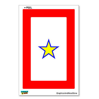 Gold Star Motors >> Gold Star Military Service Flag One 1 War Mother Window ...