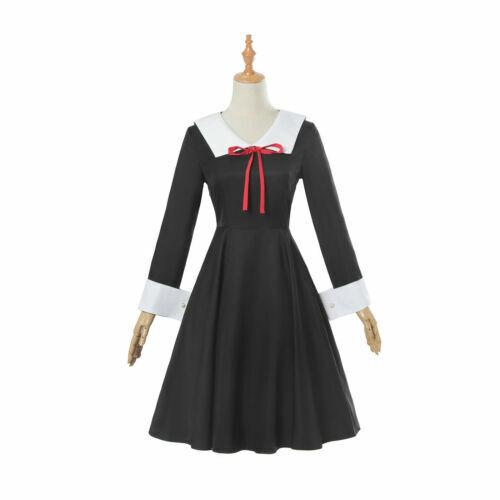 Kaguya-sama Love is War Sailor Suit Dress Outfit Cosplay Costume School Uniform