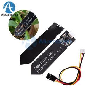 Tool V1.2 Corrosion Soil Resistant Moisture Sensor Cable 10Pcs Analog Capacitive