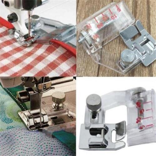 Adjustable Bias Sewing Machine Presser Foot Tape Binding Binder LI