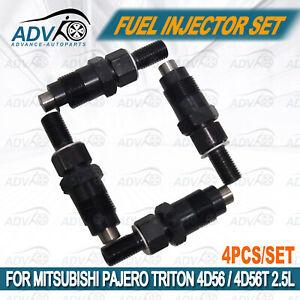 4-set-Injectors-For-Mitsubishi-Triton-Pajero-2-5-4D56-4D56T-Diesel-Fuel