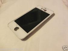 Apple iPhone 4 oder 4S Dipslay in Weiß, Glas gesprungen, DEFEKT, für Bastler