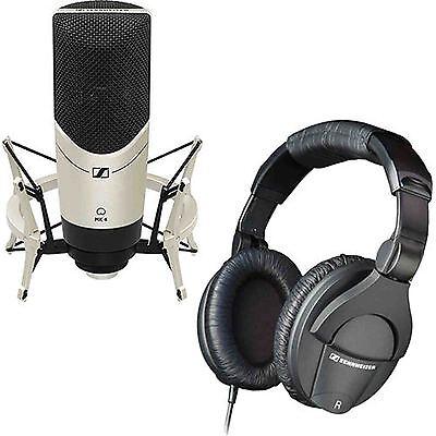 Sennheiser MK4 Studio Condenser Mic w/ Shockmount + HD280 Headphone - STUDIO KIT