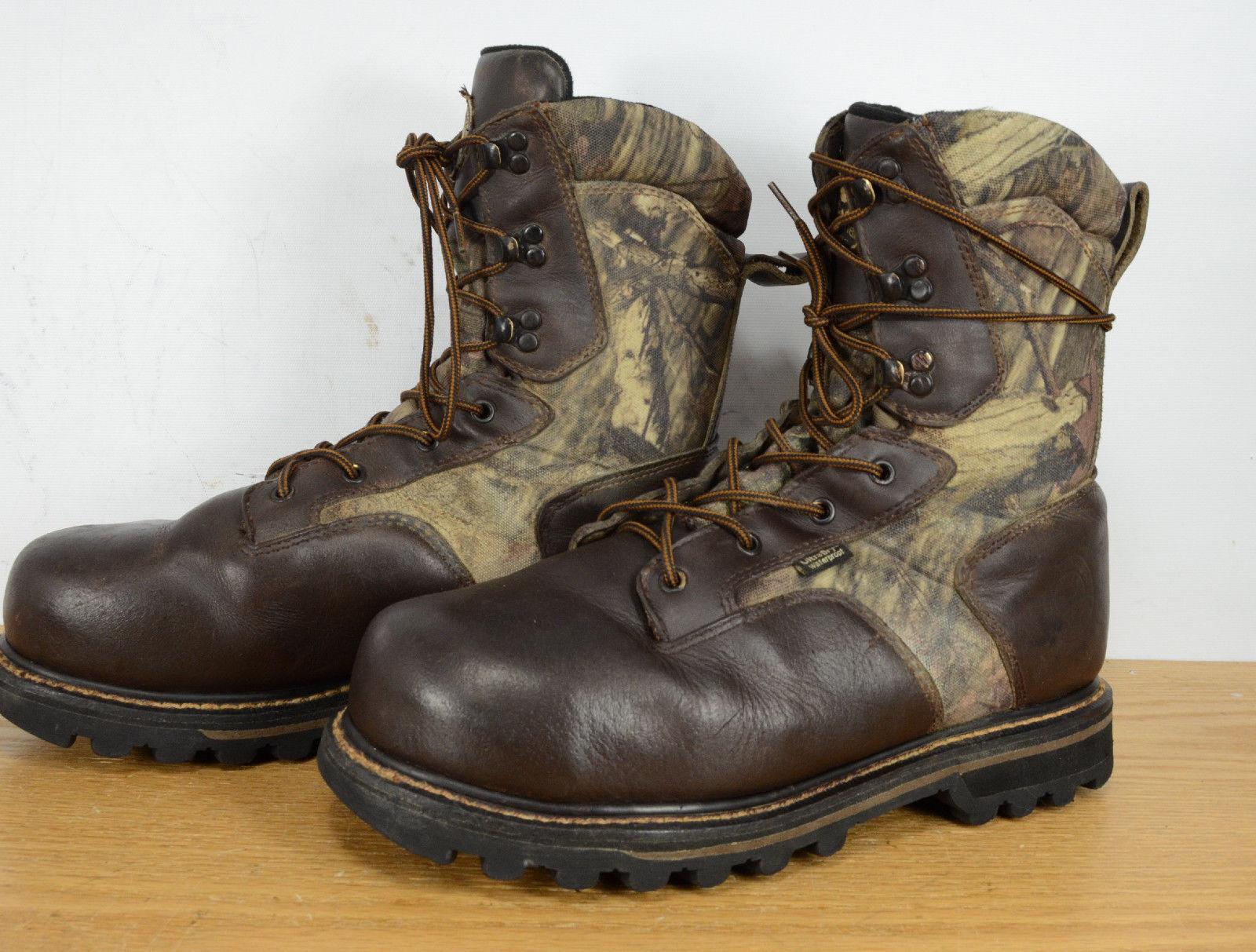 rojo WING IRISH SETTER 1000G aislado GTX Camuflaje Caza de Cuero botas De Trabajo 11.5
