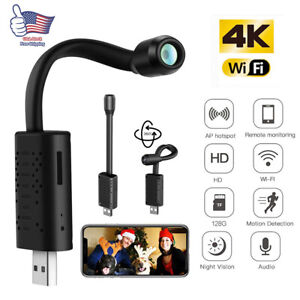 Mini-USB-IP-Camera-Wireless-WiFi-IP-Security-Camcorder-HD-1080P-Hidden-Cam-Black