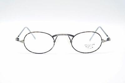 Delizioso Vintage Chai Dst1 42 [] 22 140 Nero Grigio Ovale Occhiali Eyeglasses Nos-mostra Il Titolo Originale Eccellente Nell'Effetto Cuscino