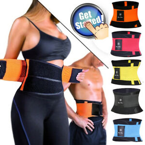 US-Xtreme-Power-Belt-Slimming-Sweat-Thermo-Sport-Abs-Body-Shapers-Waist-Trainer