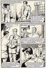 OSS 117  N'EST PAS MORT SUPERBE PLANCHE ORIGINALE AREDIT PAGE 57