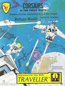 Details about TRAVELLER Corsairs of the Turku Waste Space Pirates &  Corsairs Judges Guild FS