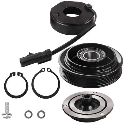 Younar A//C Compressor Clutch Pulley Coil Repair Kit 55111436AB 55111442AG RL111436AB for DODGE RAM JEEP MITSUBISHI