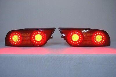 Jdm Led Tail Lights For Nissan Silvia S13 180sx 200sx 240sx Hatchback Fastback Ebay