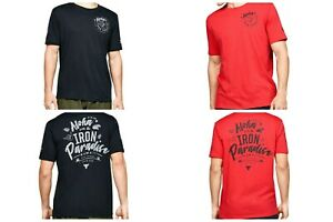 Under Armour Men's T-shirt Project Rock Iron Paradise Short Sleeve 1351586
