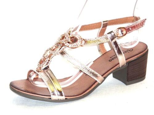 Sandali In Strass Pelle Spilla Metallo Donna N Eleganti 37 Italy Made E Platino FfqFwrRz