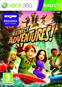 KINECT-ADVENTURES-Microsoft-Xbox-360-PAL-Brand-New-FACTORY-SEALED