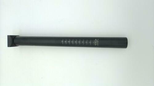 bikinGreen Pivotal Seatpost 27.2mm X 300mm Length Matt Black BMX Old School