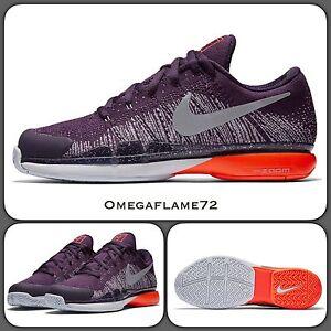innovative design 57b50 4dbb2 Image is loading Nike-Federer-Zoom-Vapor-9-5-Tour-Flyknit-
