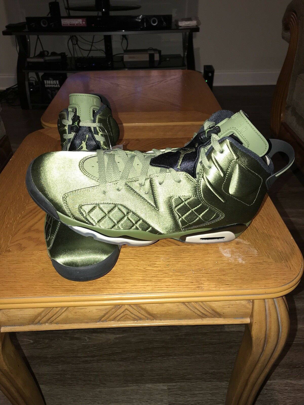 Air Jordan 6 Retro Pinnacle (Flight Jacket) Size 14