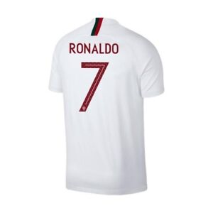 Nike Portugal FIFA WC World Cup 2018 Ronaldo   7 Away Soccer Jersey ... 29a639dce
