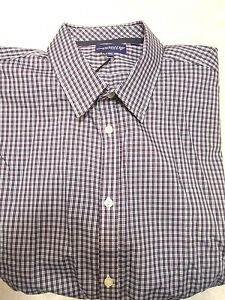 Jeremy-Argyle-of-NYC-Black-Checked-Sport-Shirt-NWT-XL-Tailored-Fit-148