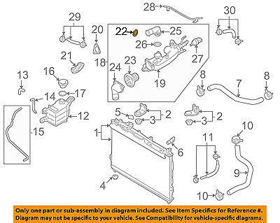 Hyundai Oem 03 06 Santa Fe 3 5l V6 Engine Water Pump Gasket 2546235504 Ebay