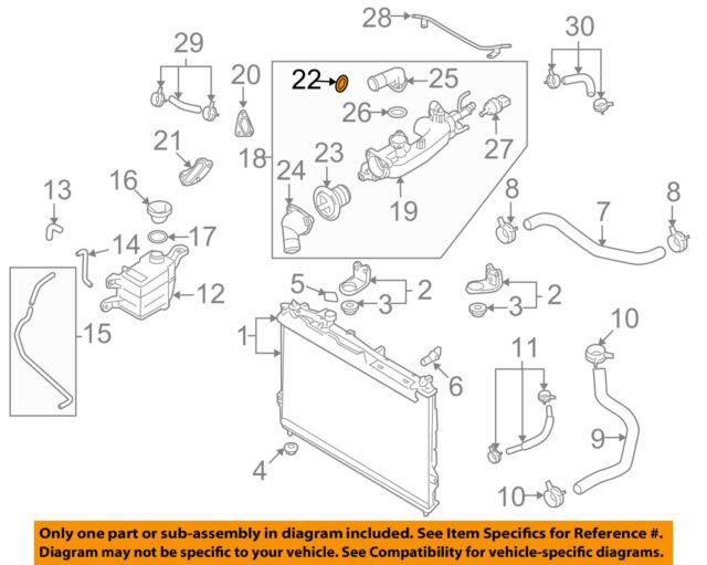 Hyundai Oem 13 14 Santa Fe Engine Water Pump Gasket 2546235504 For Sale Online Ebay
