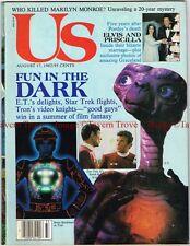 Aug 17 1982 US WEEKLY ET Extra Terrestrial STAR TREK TRON Elvis Marylin Monroe