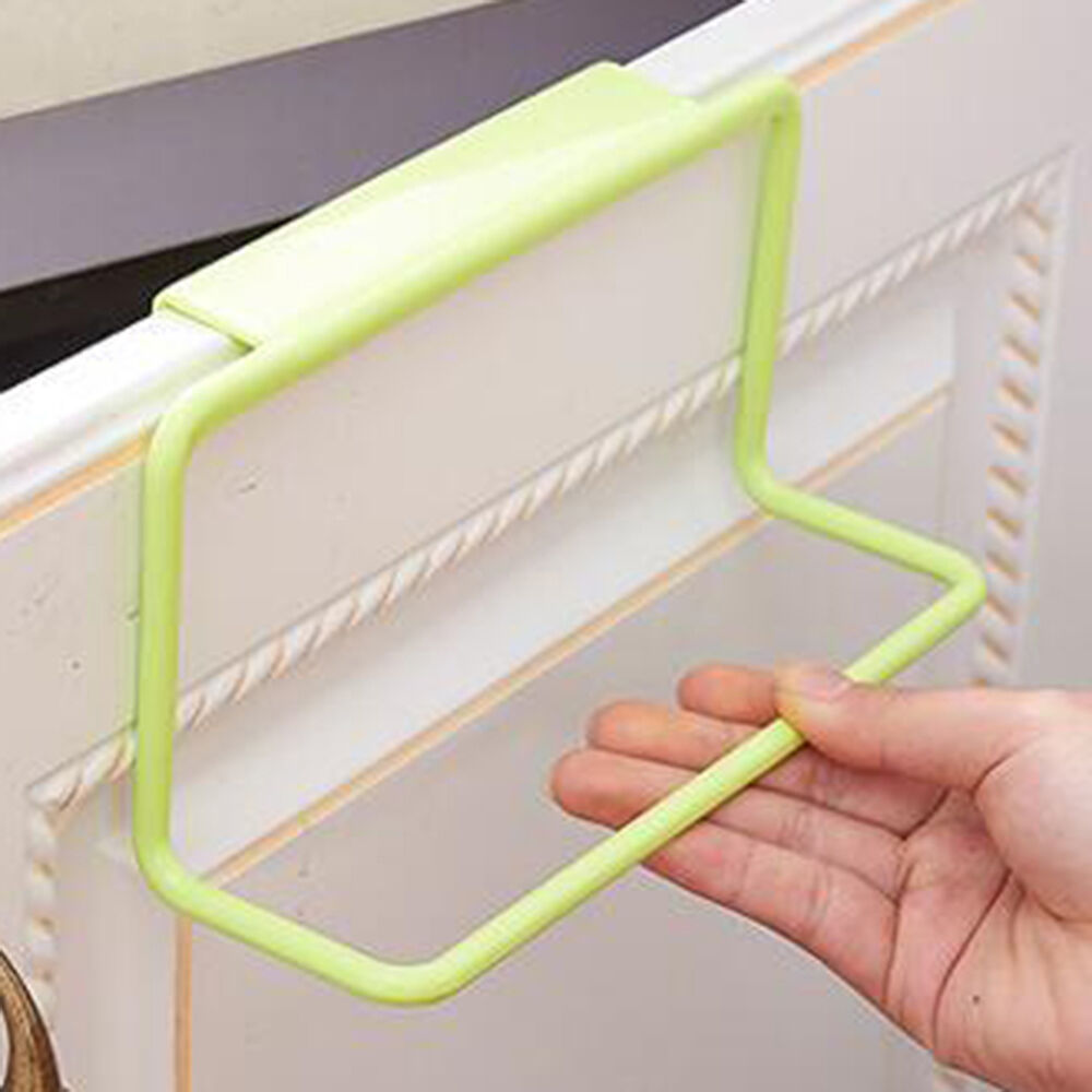EG _ HK- Handtuch Aufhängen Halter Organizer Badezimmer Küchen Schrank Hänger