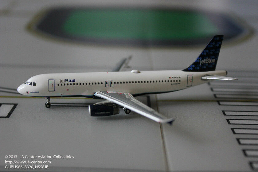 Gemini Jets Jetbluee Airbus A320 Song Sung bluee Diecast Model 1 400