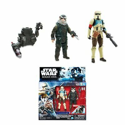 "Star Wars SHORETROOPER CAPTAIN 3.75/"" Figure Rogue One Scarif Stormtrooper"