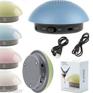 Mini Haut-Parleurs Speaker Bluetooth 2.1 Edr Aux Cellulaire Ipod Tablette E200