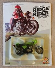 Vtg 1981 Zee Toys Ridge Rider Kawasaki Mach III Street Bike NIP Unpunched VHTF