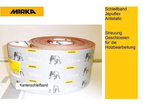 Mirka Schleifband Jepuflex Antistatic 150 x 2600 mm Körnung wählbar VE-10 Bänder