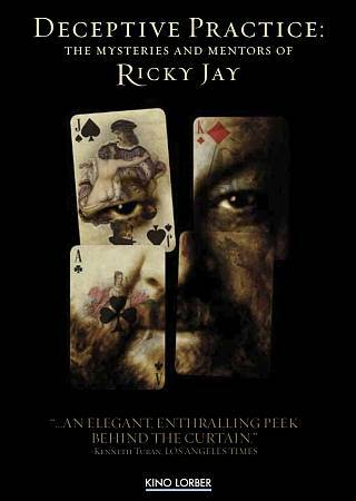 Deceptive Practice: The Mysteries and Mentors of Ricky Jay (DVD, 2013)