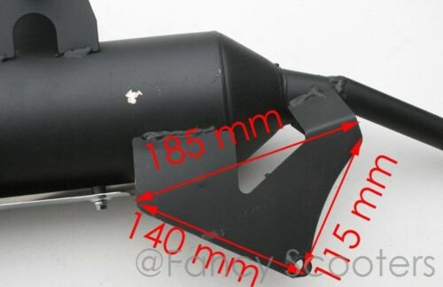 With Enzyme 150cc Muffler Assembly for PEACE SPORTS TPGS-808 EPA Approved