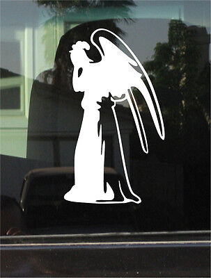 WEEPING ANGEL - DOCTOR WHO - 7 INCH  VINYL DECAL / STICKER