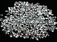 Clear Acrylic Silver Point back Rhinestones Craft Confetti Wedding Table Scatter